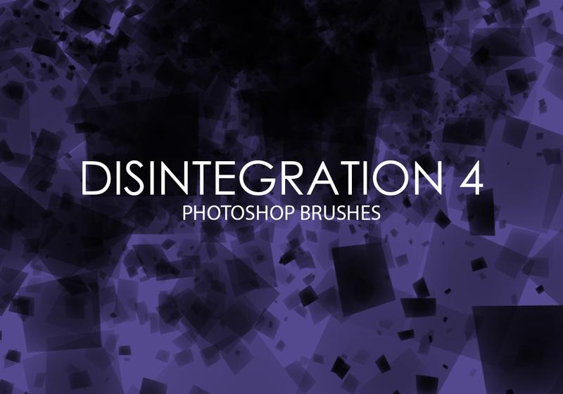 Free Disintegration Photoshop Brushes 4 Photoshop brush