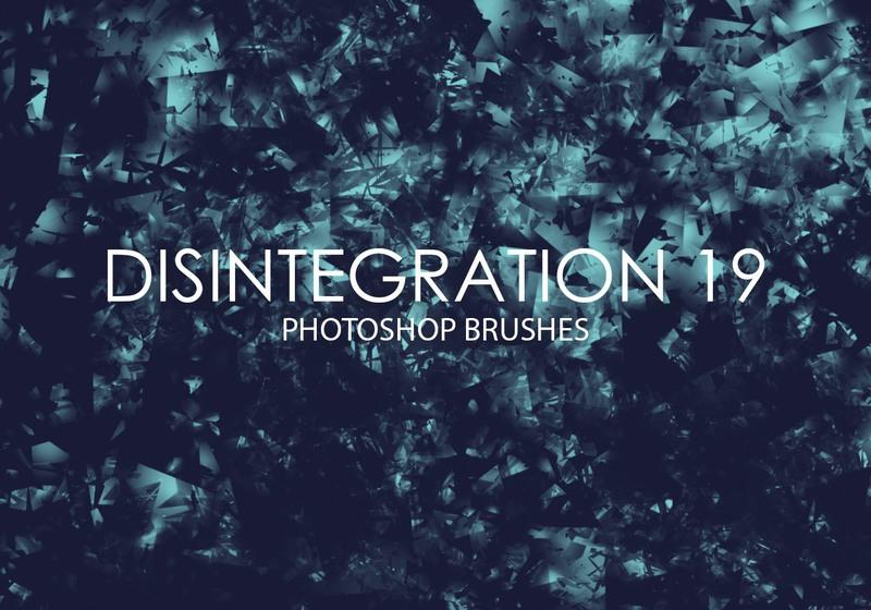 Free Disintegration Photoshop Brushes 19 Photoshop brush