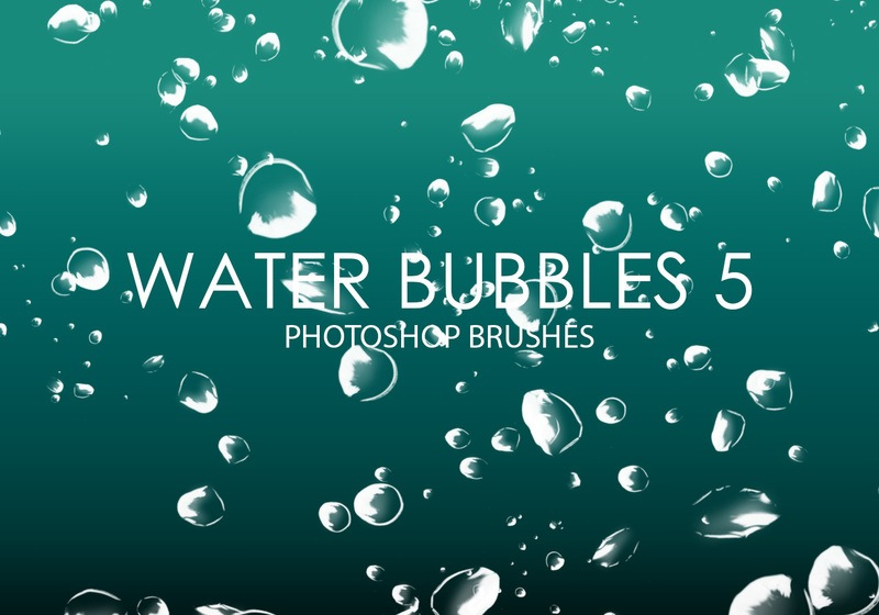 Free Water Bubbles Photoshop Brushes 5 Photoshop brush
