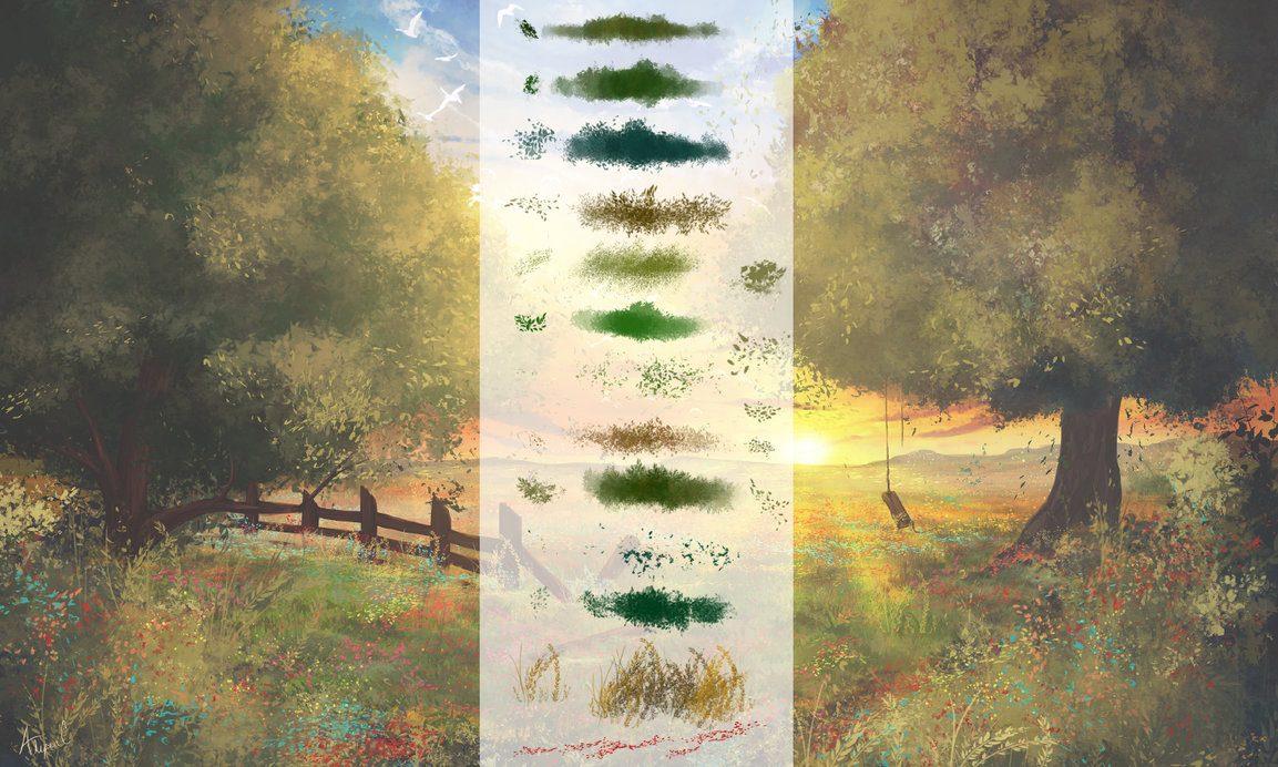 Flora Photoshop Brushes Photoshop brush