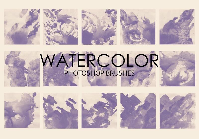 Free Watercolor Wash Photoshop Brushes 4 Photoshop brush