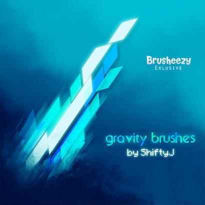 Gravity Brushes Photoshop brush