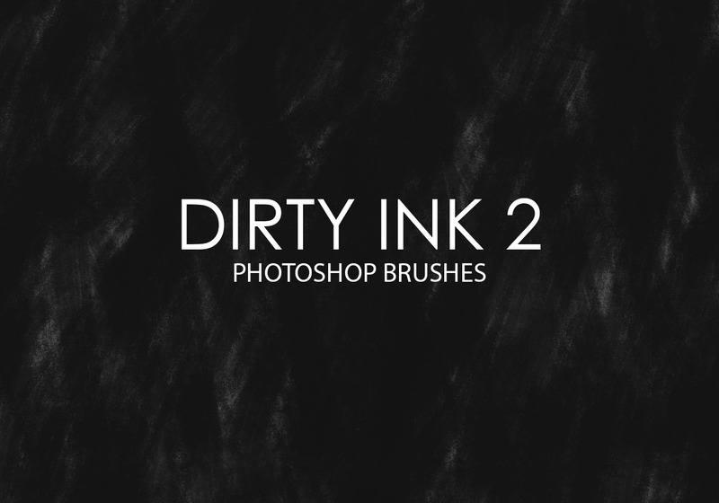 Free Dirty Ink Photoshop Brushes 2 Photoshop brush