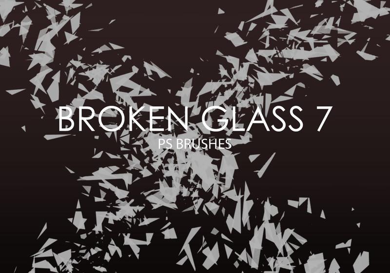 Free Broken Glass Photoshop Brushes 7 Photoshop brush