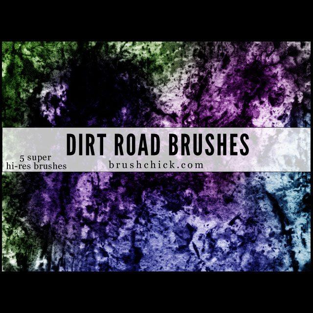 Dirt Road Brushes Photoshop brush