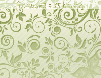 Floral Brushes 3 Photoshop brush