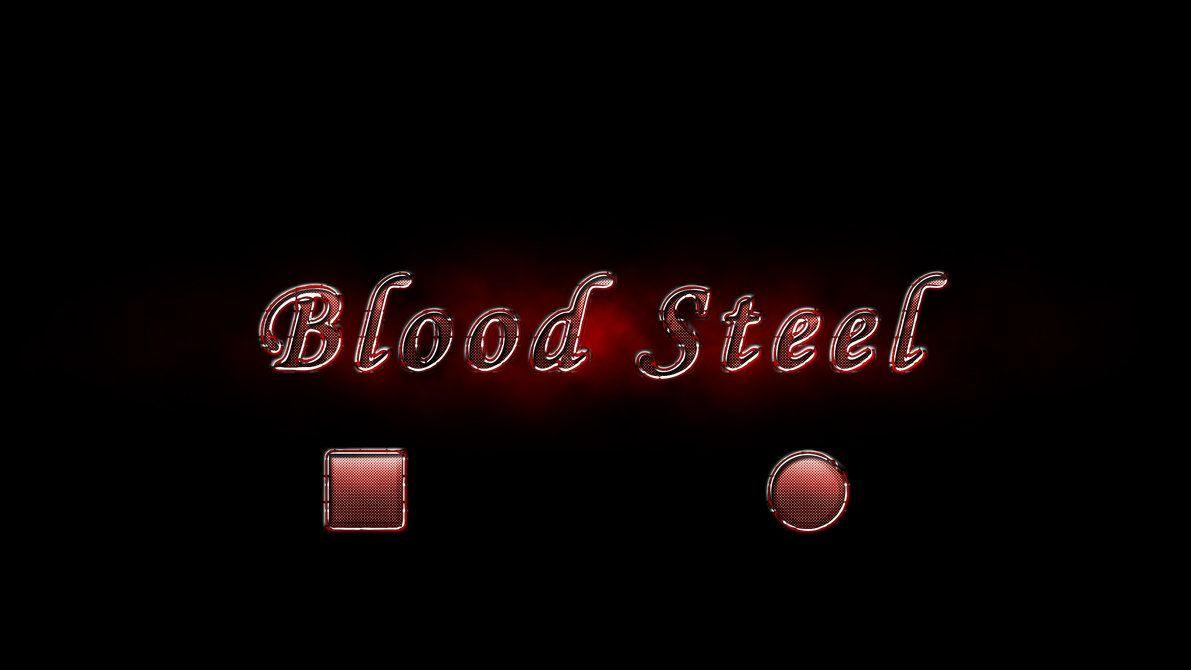 Blood Steel Style Photoshop brush