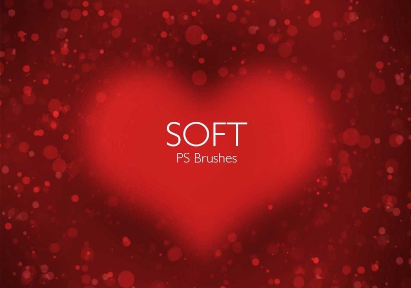 20 Soft PS Brushes abr. Vol.8 Photoshop brush