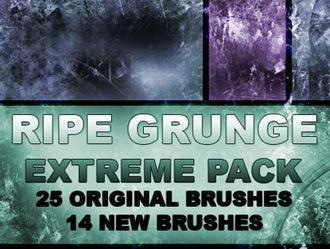 Ripe Grunge Photoshop brush