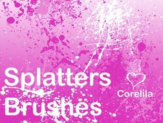 Splatter Brushes 1.5 Photoshop brush