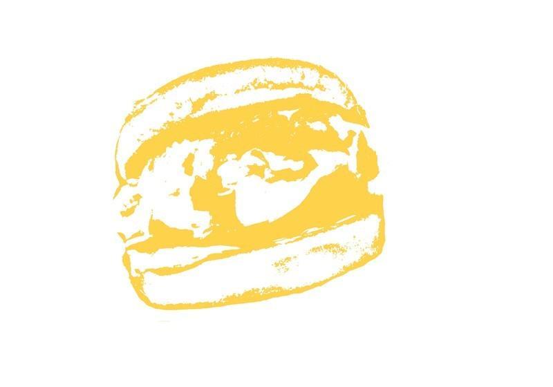 Burger Brush  Photoshop brush