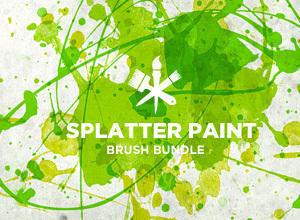 Paint Splatter Photoshop brush