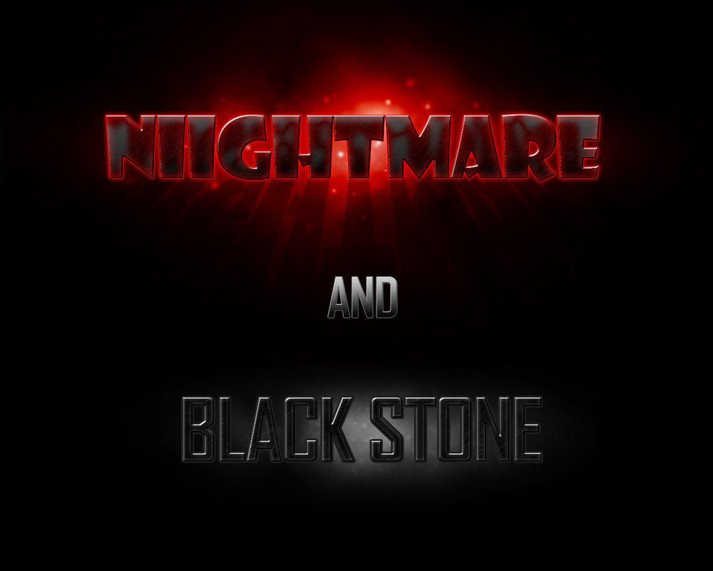 Nightmare-Black Stone Styles Photoshop brush