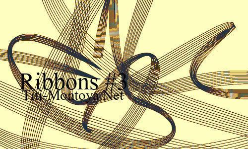 Ribbons 3 Photoshop brush