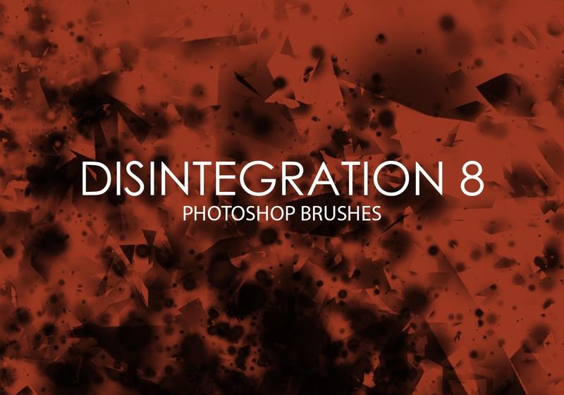Free Disintegration Photoshop Brushes 8 Photoshop brush