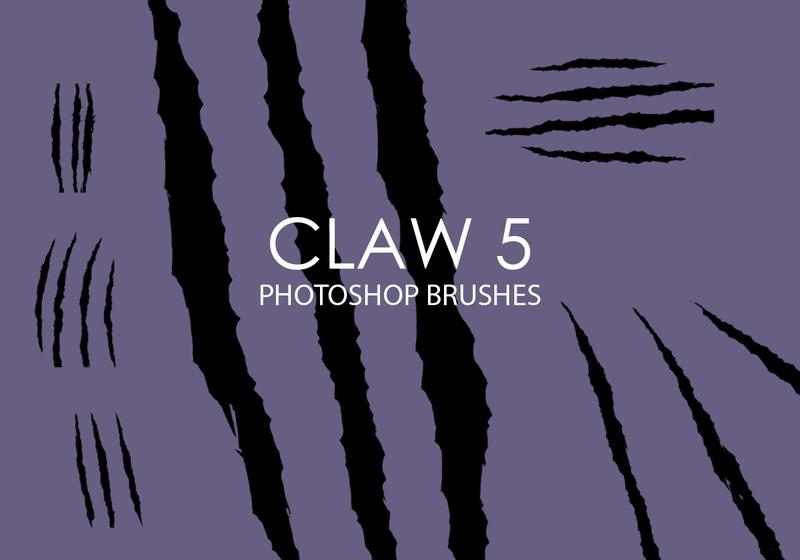 Free Claw Photoshop Brushes 5 Photoshop brush