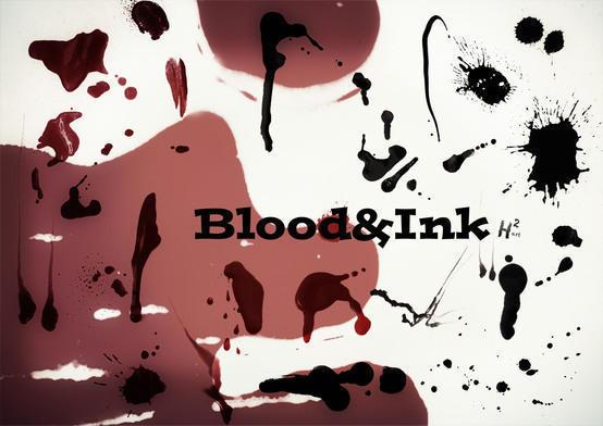 Splatter Brush and Blood Brush Pack Photoshop brush