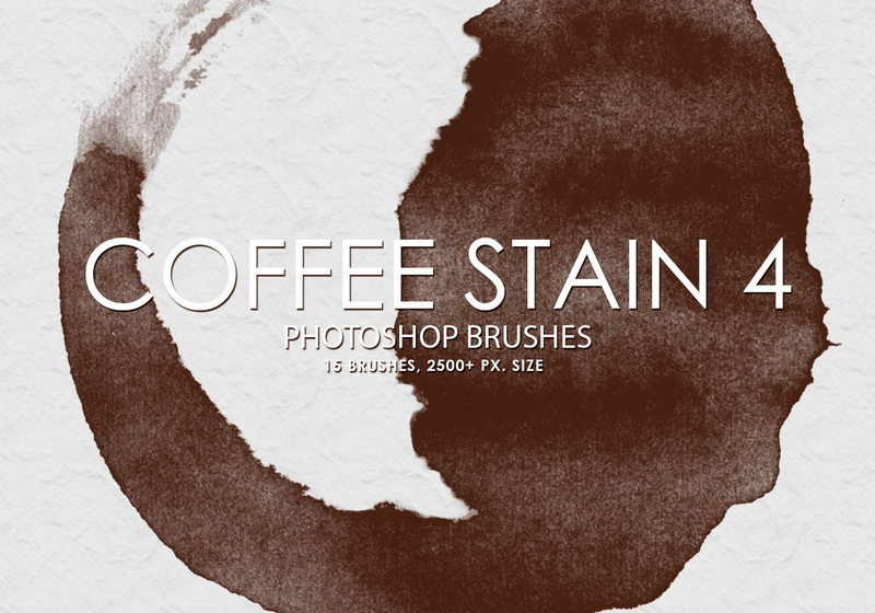 Free Coffee Stain Photoshop Brushes 4 Photoshop brush