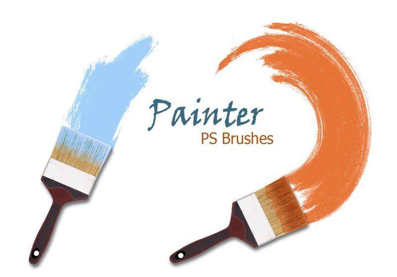 20 Painter PS Brushes abr. vol.2 Photoshop brush