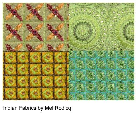 Indian Fabric Patterns Photoshop brush