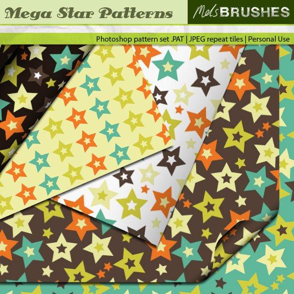 Mega Star Photoshop brush