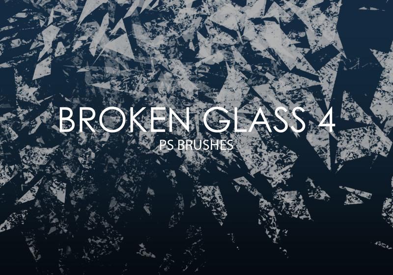 Free Broken Glass Photoshop Brushes 4 Photoshop brush