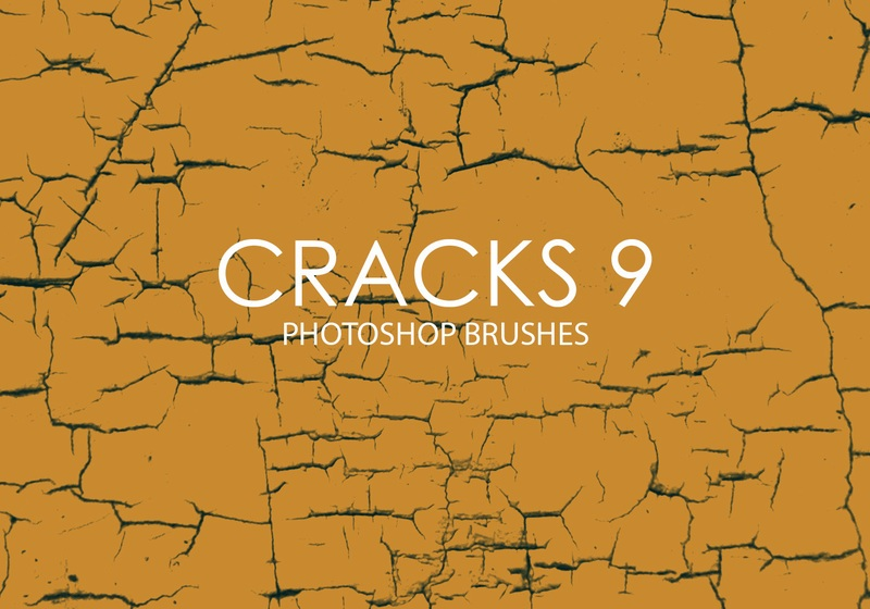 Free Cracks Photoshop Brushes 9 Photoshop brush