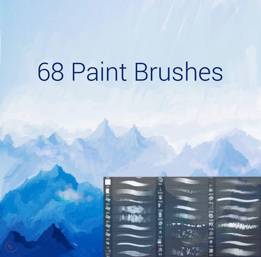 Paint Brushes Photoshop brush