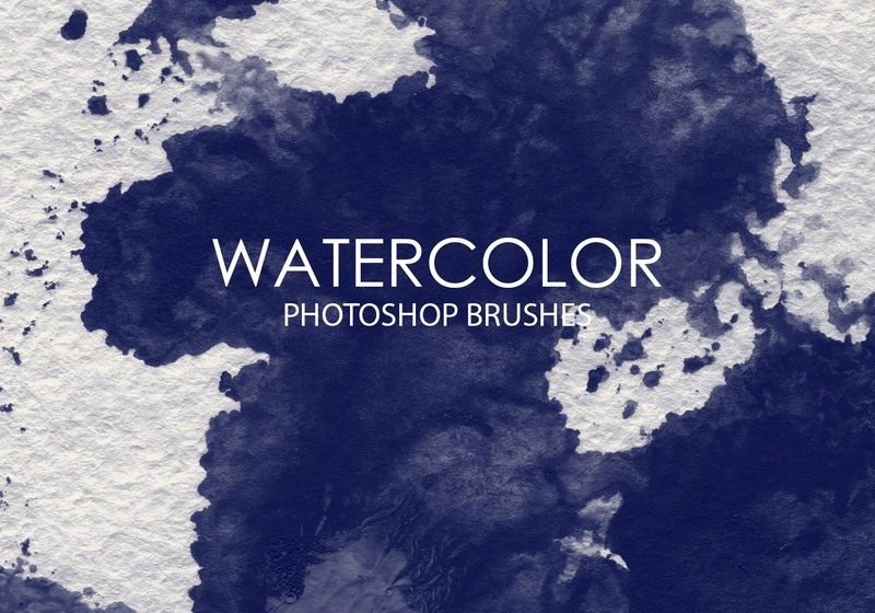 Free Watercolor Wash Photoshop Brushes 7 Photoshop brush
