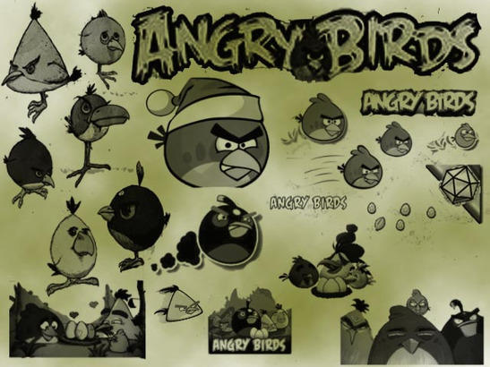 angry birds Photoshop brush