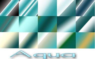 Aqua Photoshop brush