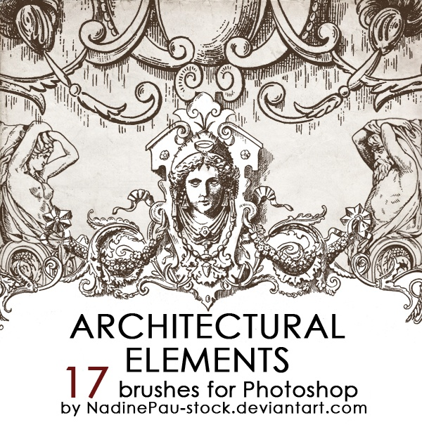 Architectual Ornaments Photoshop brush