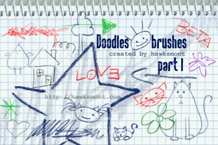 Doodles I Photoshop brush