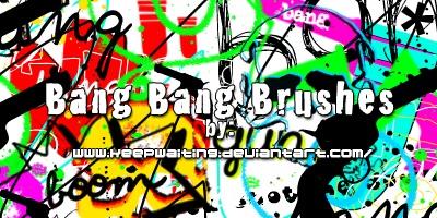 Bang Bang Brushes Photoshop brush