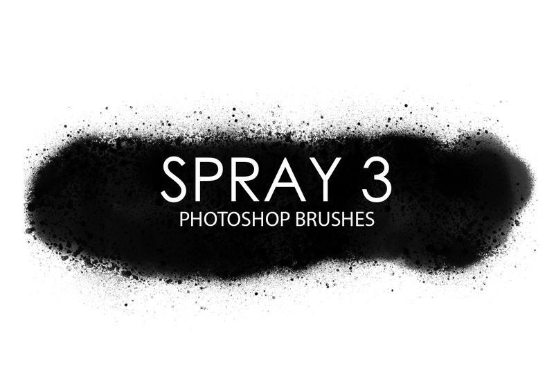 Free Spray Photoshop Brushes 3 Photoshop brush