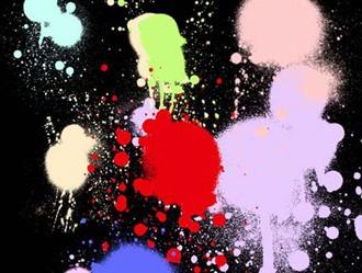 Splat SprayCan Set 2 Photoshop brush