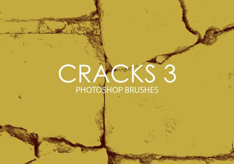 Free Cracks Photoshop Brushes 3 Photoshop brush