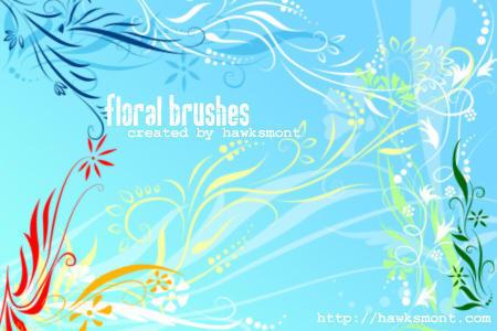 Floral Brushes I Photoshop brush