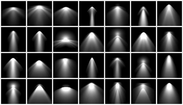IES Spot Light Brushes Photoshop brush