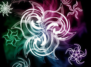 Anigraphuse-Flowers-I Photoshop brush