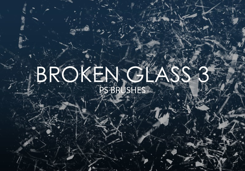 Free Broken Glass Photoshop Brushes 3 Photoshop brush
