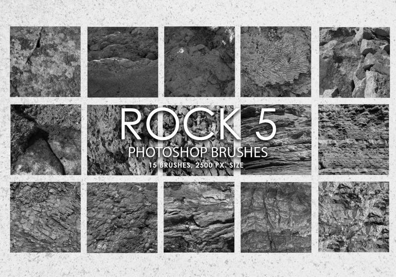 Free Rock Photoshop Brushes 5 Photoshop brush