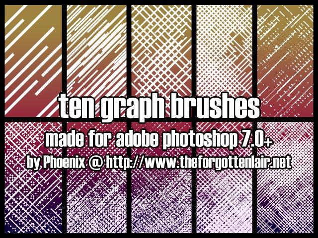 Graph Brushes Photoshop brush