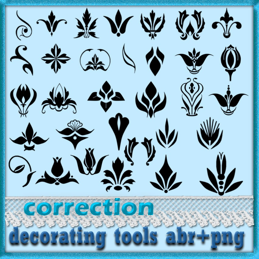 Decorating Tools 2 Photoshop brush