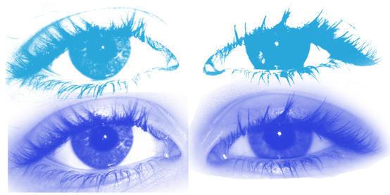 Real Female Eyeball Brushes Photoshop brush