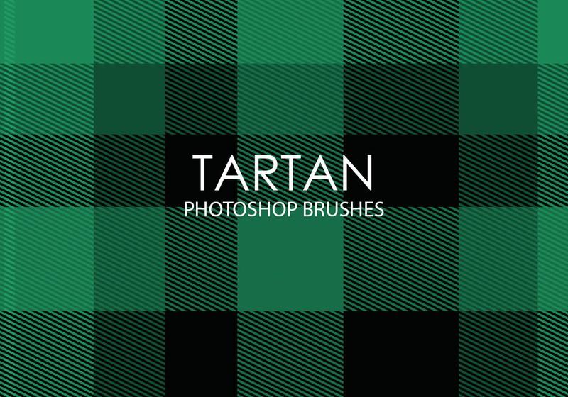 Free Tartan Photoshop Brushes Photoshop brush