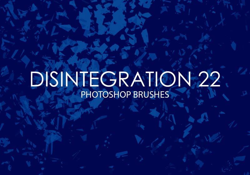 Free Disintegration Photoshop Brushes 22 Photoshop brush