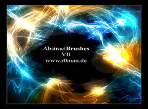 Abstract Brushset VII Photoshop brush