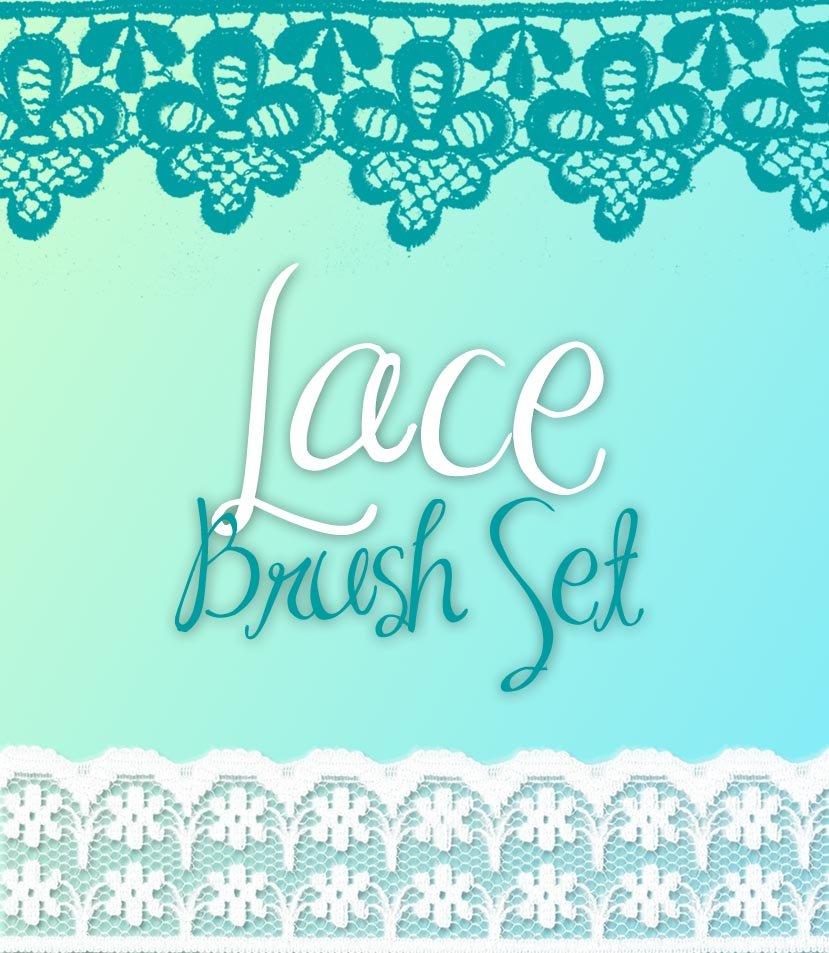 Lace Brush Set Photoshop brush