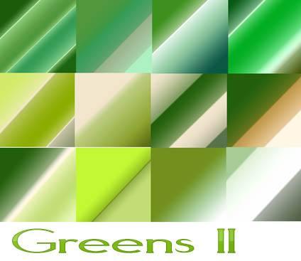 Greens II Photoshop brush
